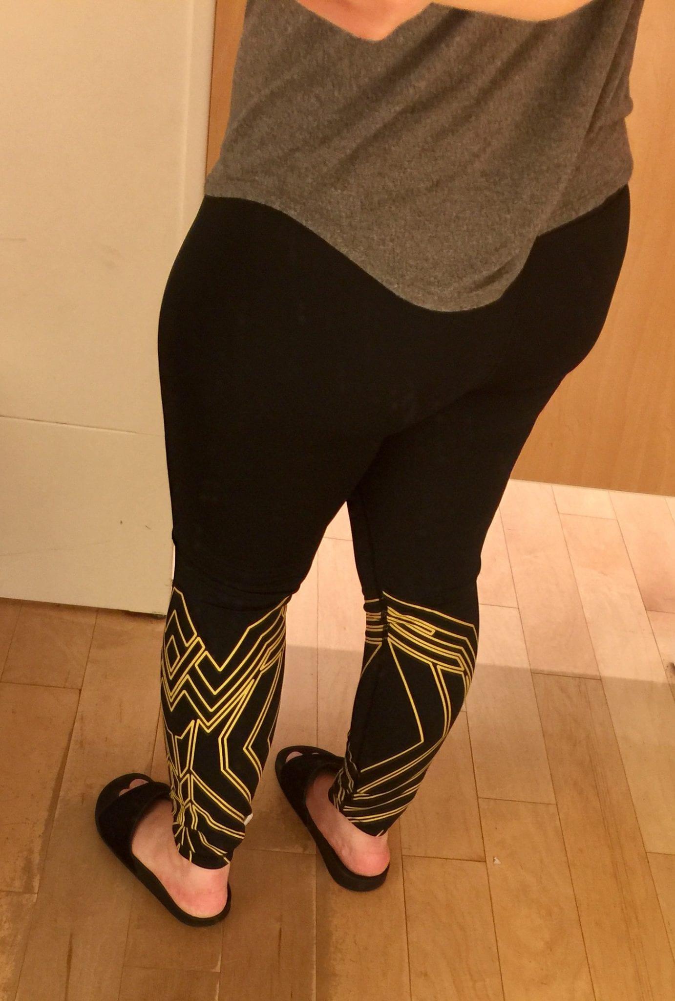 Gap Wonder Woman Shield Legging